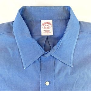 Brooks Brothers Traditional Blue LS Dress Shirt